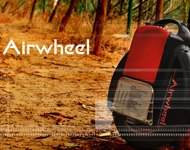 Airwheel monocycle