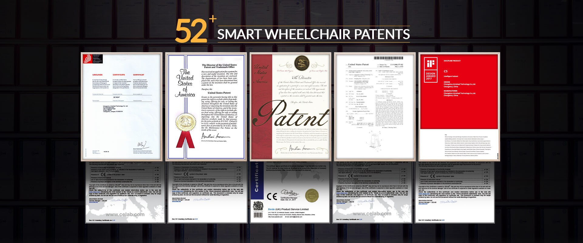 Airwheel Wheelchair Patents